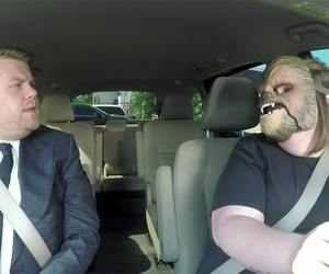 Chewbacca Mom with James Corden