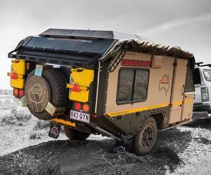 Conqueror UEV-490 ATV Camper
