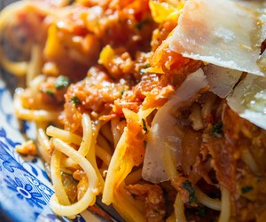 Crab Pasta and Tomato Sauce