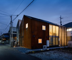 transustainable house in tokyo