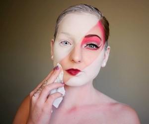 Makeup Artist Elsa Rhae transforms herself