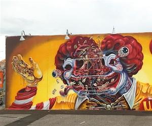 Ronald McDonald - Streetart