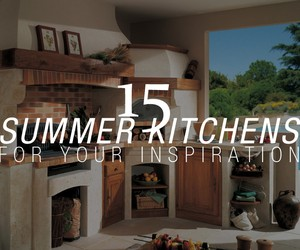 Summer Kitchen Inspiration