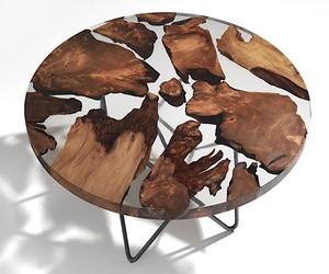 Designer furniture , accessories with epoxy resin
