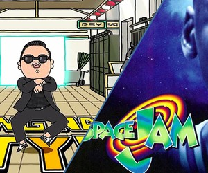 Space Jam remixed to Gangnam Style