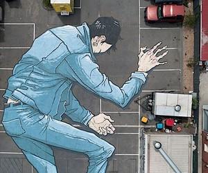 Big murals and street art from Kitt Bennett