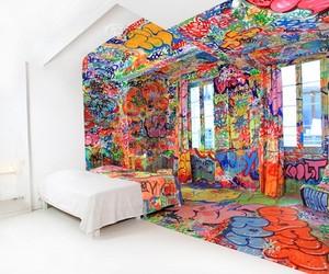 The Half Graffiti / Half Acyetic Hotel Room