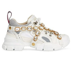 Gucci sets the chunky sneaker on dazzling luxury