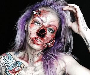 Halloween-Make-up - Sarah Mudle