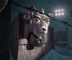 I, pet goat II by Heliofant