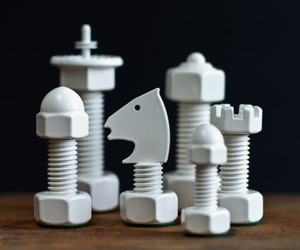 Tool Chess Set by the House of Staunton
