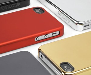 Incase Chrome & Metallic Snap Cases for iPhone 4