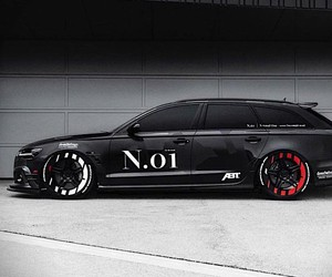 Jon Olsson gets the tailor-made Audi Abt RS6 +