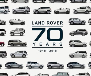 The longest Land Rover parade in the world