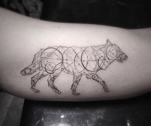 Geometric Fine Line Tattoos by L.A.'s Dr. Woo