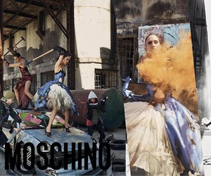 MOSCHINO FALL 2016 CAMPAIGN BY STEVEN MEISEL