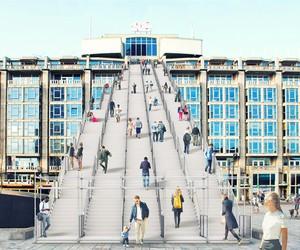 MVRDV installs a giant staircase in Rotterdam