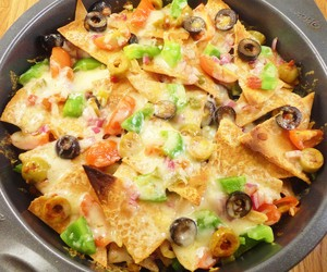 Nachos with Homemade Tortilla Chips