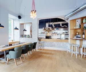 Nejen Bistro in Prague by mar.s architects