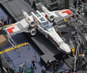 World's largest LEGO: Star Wars X-wing starfighter