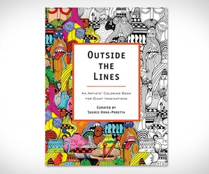 Outside The Lines | An Artists Coloring Book