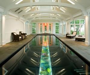 Extraordinary Indoor Pool Design