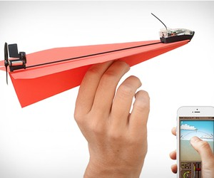 PowerUp 3.0 | Smartphone Controlled Paper Airplane