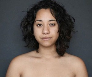 Biracial Woman photoshopped by 25 Designers