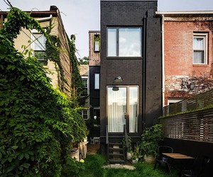 """Office of Architecture"" transforms a row house"