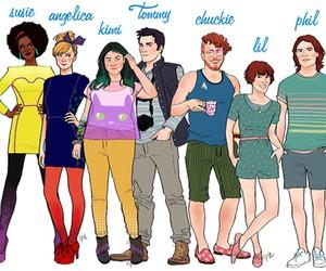 Cartoon Characters Drawn as Adults