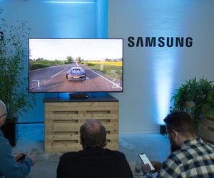Presentation of the Samsung Q900 QLED 8K in FFM