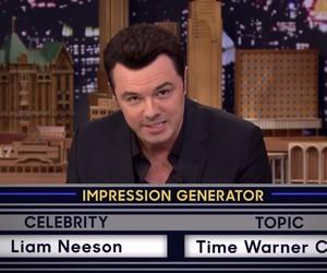 Seth MacFarlane Impersonates Liam Neeson Perfectly