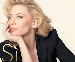 CATE BLANCHETT AND  SI INTENSE BY GIORGIO ARMANI