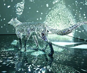 Japanese Artist CreatesSix-Legged Wolf Sculpture