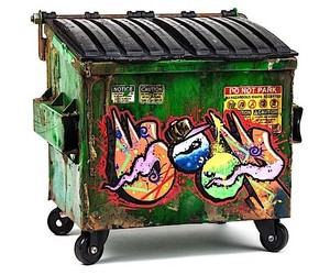 Dumpsty - The colorful dumpster for the desktop