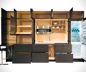 Stealth Modular Kitchen