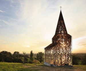 Steel Crafted Church in Belgium