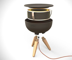 Springtime designed the electric campfire Stov