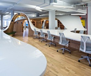 Superdesk by Clive Wilkinson Architects