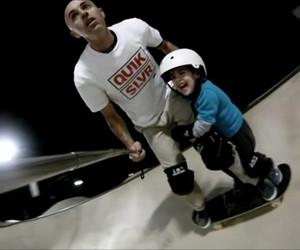 Tandem Skateboarding