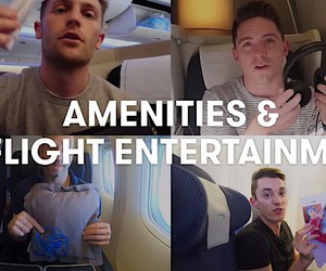 Point guys test all flight classes at British Air