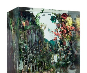 Art by Dustin Yellin