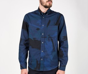 "Acne ""Isherwood"" camo print shirt by Schwittenberg"