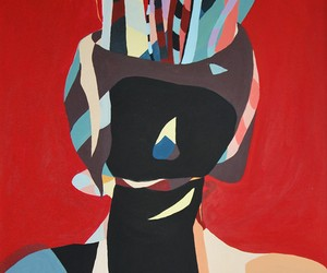 "Art By Sandra Beer ""The Hidden Face"""