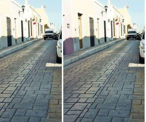 Optical Illusion: Now a street is driving us crazy