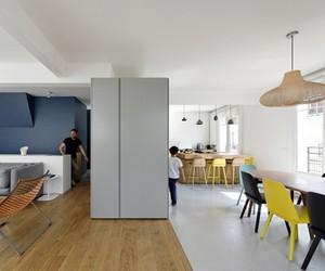Paris Maisonette by Ulli Heckmann + Eitan Hammer