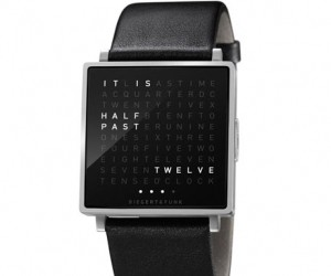 The world′s first wristwatch in words