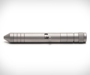 Titanium EDC Pen & Flashlight