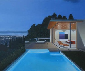 Photorealistic Oil Paintings of luxury Homes
