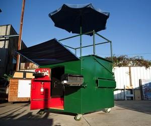 Trash Dumpster Turned Tiny House